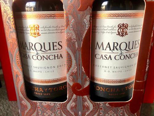 vino marqués de casa concha