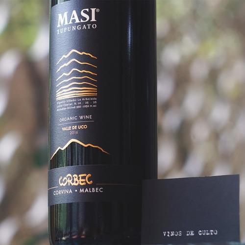 vino masi tupungato corbec 2016 (corvina veronese / malbec )