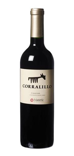 vino matetic corralillo carménère
