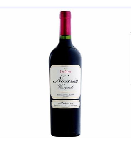 vino nicasia malbec blend x 750 cc