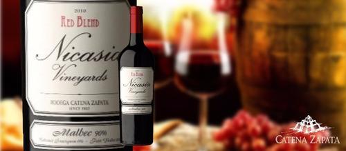 vino nicasia malbec o cabernet franc cosecha 2017 catena zap