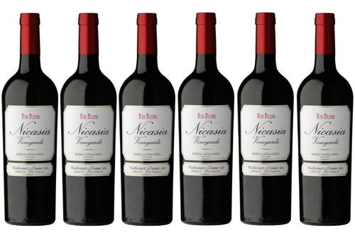 vino nicasia vineyard red blend caja x6 750 ml