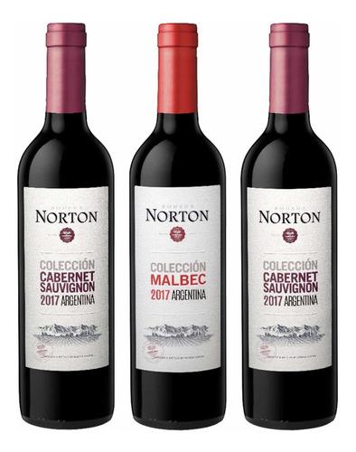 vino norton colección 750 ml argentino promo 12 + 1