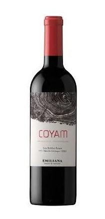 vino orgánico emiliana coyam - premium 2016