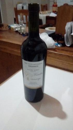 vino organico exelente calidad