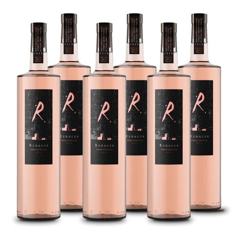 vino renacer pinot noir rose icono 6 botellas