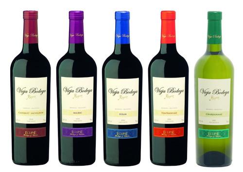 vino reserva-  vieja bodega  caja x 6 botellas