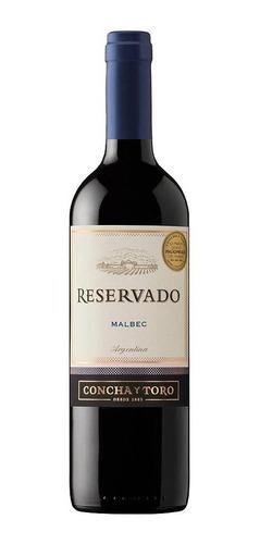 vino reservado concha y toro malbec 750 ml