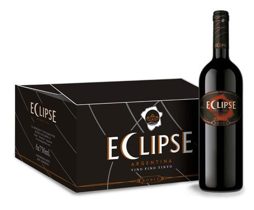 vino roble- eclipse- caja x 6 botellas