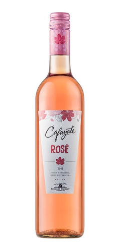 vino rosado cafayate rose botella de 750 ml