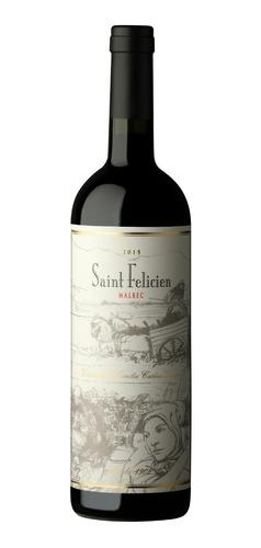 vino saint felicien malbec - imperdible! - mpdrinks