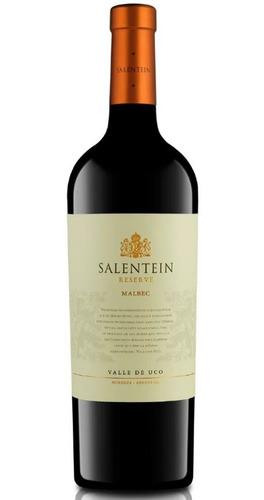 vino salentein reserve malbec 750ml botella tinto envios