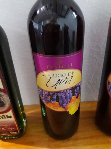 vino sin alcohol jugo de uva fantelli exelente!!