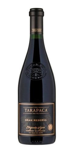 vino tarapacá etiqueta negra cabernet sauvignon /bbvinos