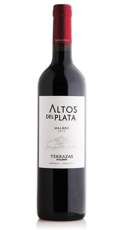 Vino Terrazas De Los Andes Altos Del Plata Malbec Etc