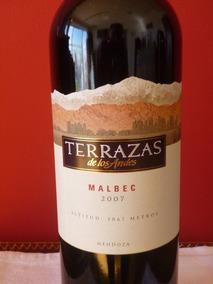 Vino Terrazas De Los Andes Malbec 2007 C Lata