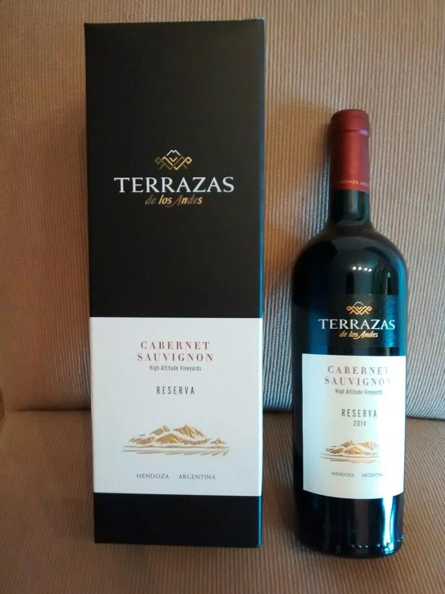Vino Terrazas De Los Andes Reserva Con Estuche 750 Ml