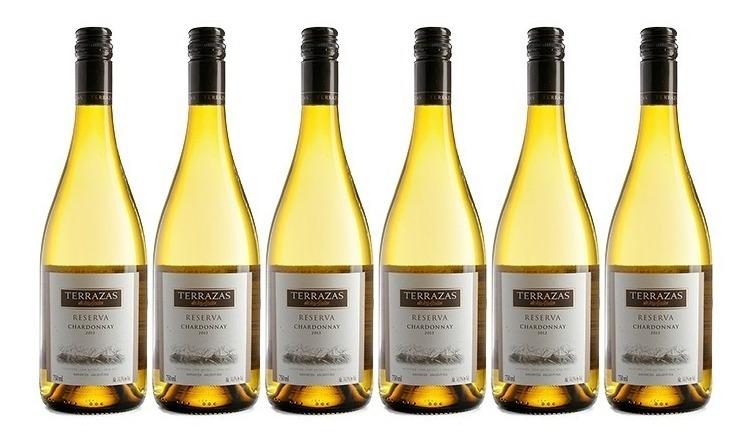 Vino Terrazas Reserva Chardonnay X750cc Caja X6