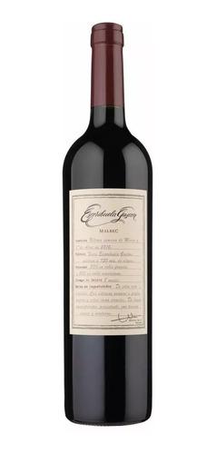 vino tinto escorihuela gascon 100% malbec 750ml botella