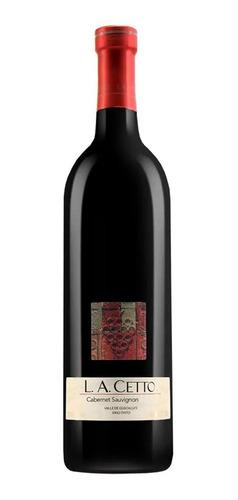 vino tinto la cetto cabernet sauvignon 750 ml