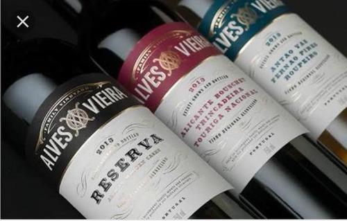 vino tinto portugués alves vieira  alentejano