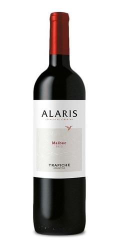 vino trapiche alaris 750 ml cabernet, malbec, chardonnay