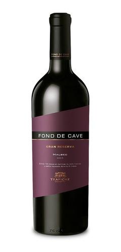 vino trapiche fond de cave gran reserva malbec x750cc