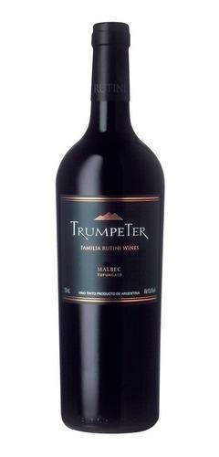 vino trumpeter malbec  750cc