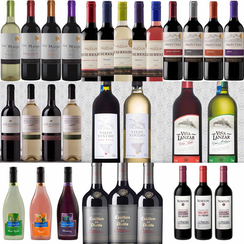 vino viejo viñedo argentina, caja 12 unidades