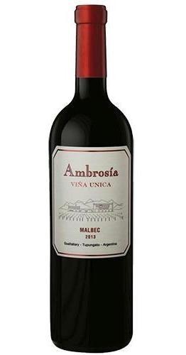vino viña única malbec/ cabernet, finca ambrosía