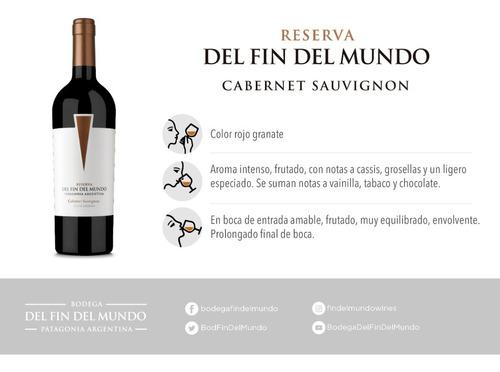 vinos reserva malbec cabernet sauvignon pinot noir combo x18