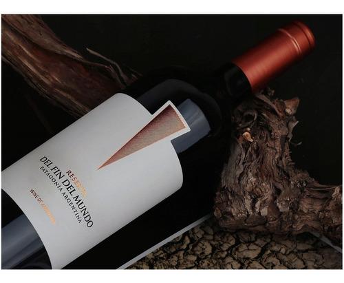 vinos reserva malbec y extra brut del fin del mundo combox12