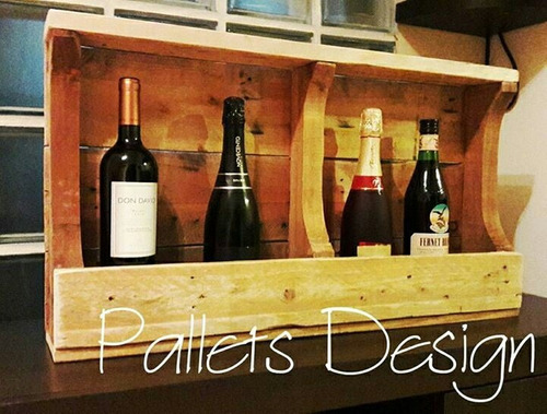 vinoteca de pallets