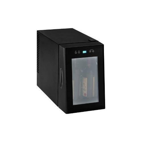 vinotemp - 8-botella del refrigerador de vino - negro