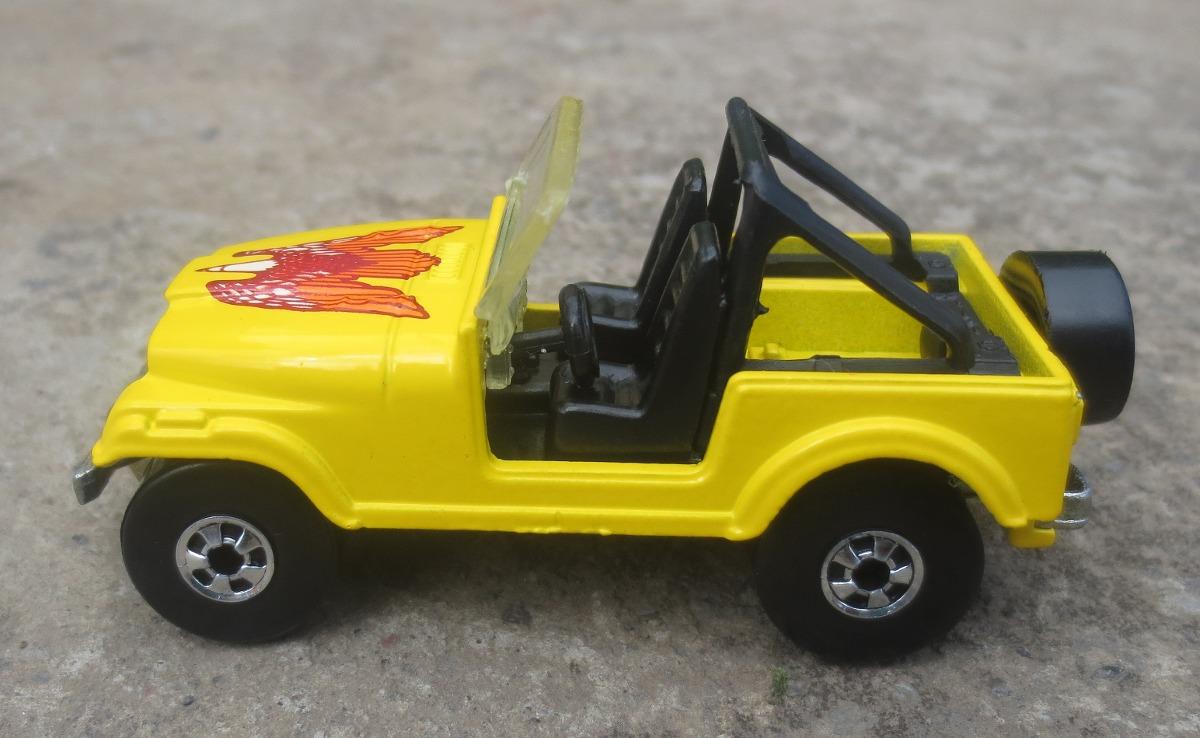 vintage 1981 hot wheels jeep wrangler cj 7 en. Black Bedroom Furniture Sets. Home Design Ideas