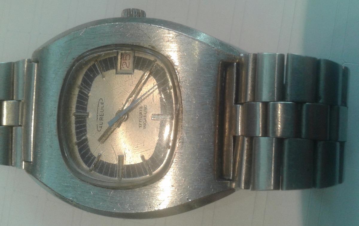 f7ae8e009da3 vintage antiguo reloj pulsera hombre aureole automatico. Cargando zoom.