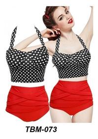 aa0c54649656 Vintage Bikini Oferta Traje De Baño Mujer, Retro Push Up
