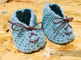 e824ad08f27 Gorro Y Patucos Para Bebé Tejidos Crochet Mmu en Mercado Libre México
