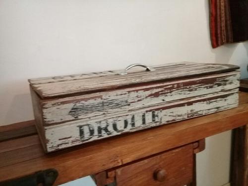 vintage! caja para deco de pinotea. muy cool!!!