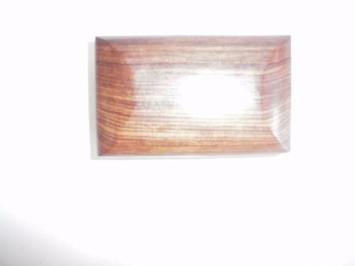 vintage cajita de madera solida y laton - alajero ecc.
