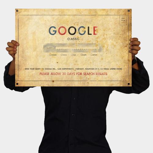 vintage - cartel google inc.