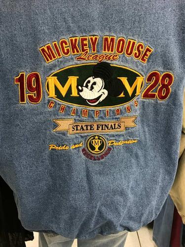 vintage casaca mickey disney de los 90's original
