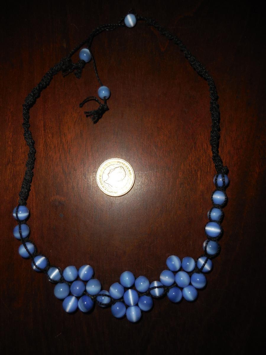 d7cfa375113b vintage collar de perlas de vidrio pieza única. Cargando zoom.