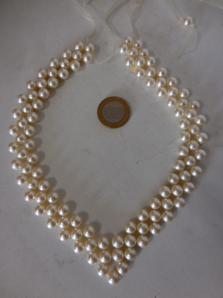 267fb1b8f69d vintage collar de perlas pieza única. Cargando zoom.