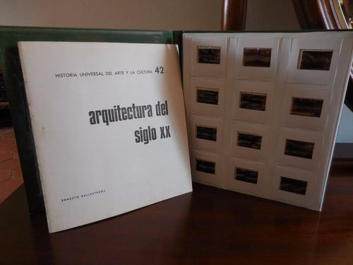 vintage diapósitivas de arqiutectura del siglo x x