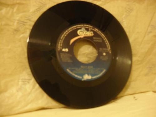 vintage disco de 45 rpm de michael jackson billy jean