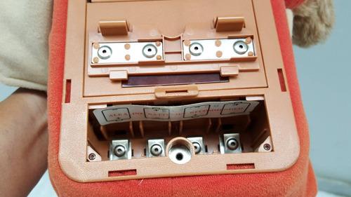 vintage familia oso teddy ruxpi de peluche 1985 gratis envio