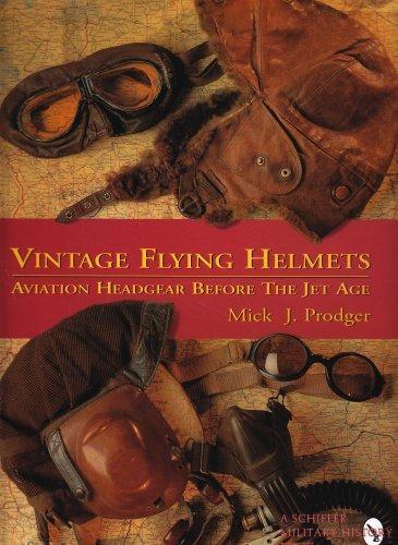 vintage flying helmets: aviation headgear before the jet age