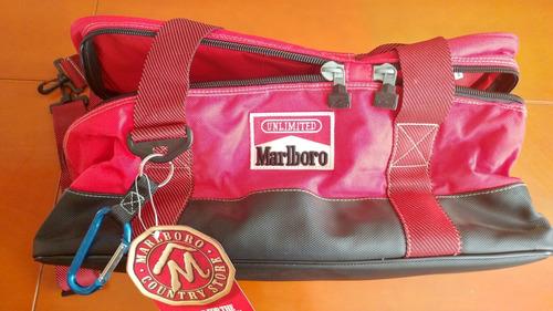 vintage marlboro unlimited  hielera dos compartimientos