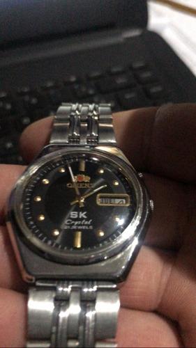 vintage orient  masculino relógio  sk